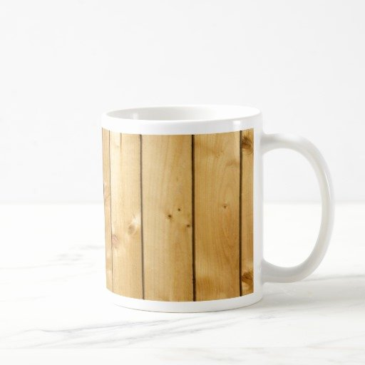 Wood Template Gifts Picket Fence Mugs