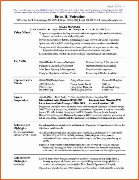 Word 2007 Resume Template