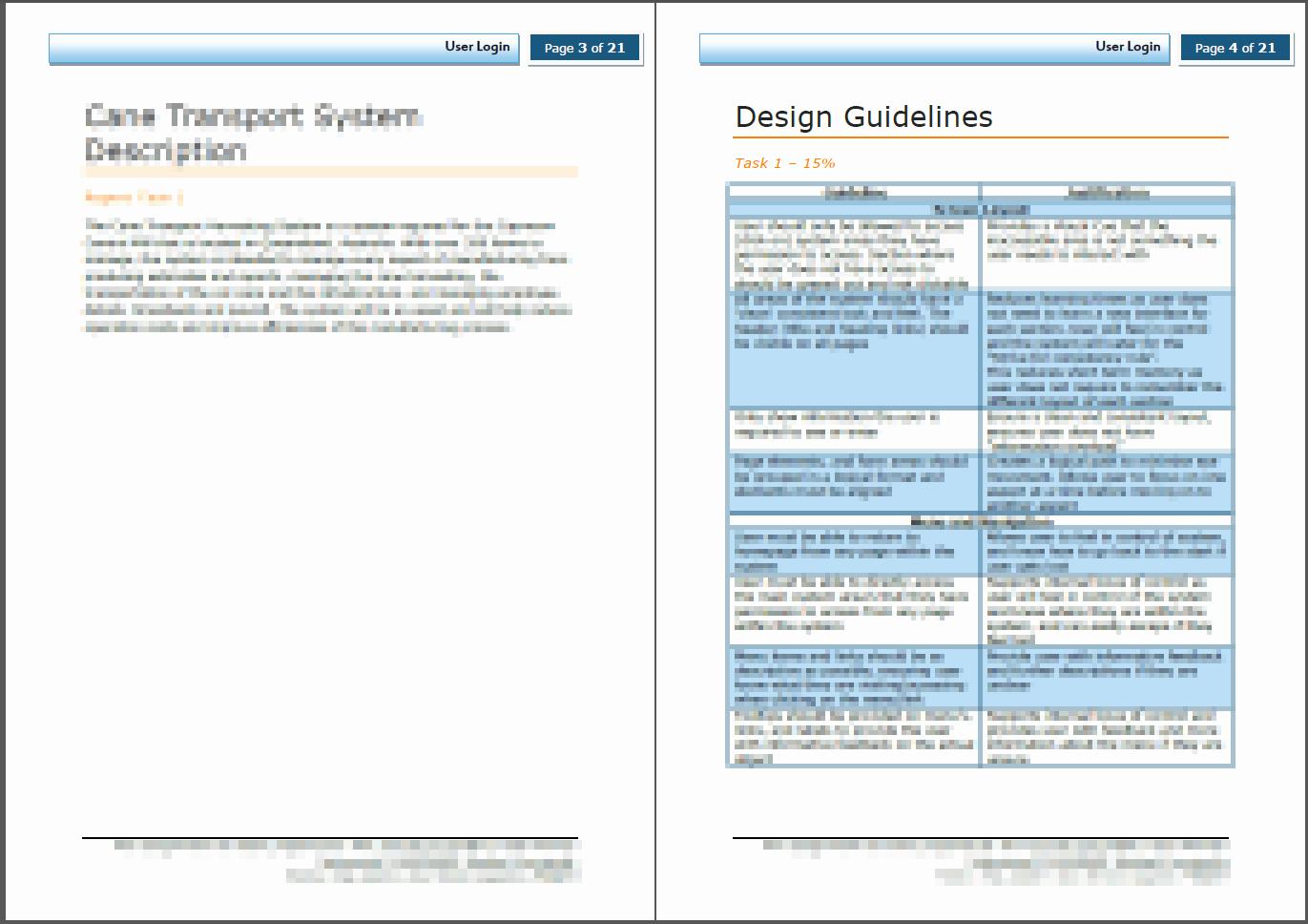 Word Document Templates