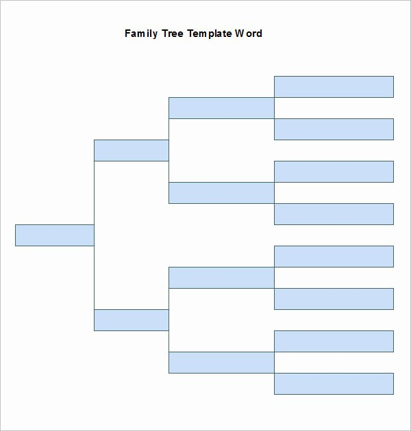 Word Family Tree Templates