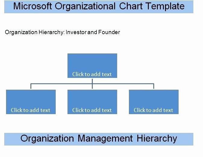 Word organisational Chart Printable organizational