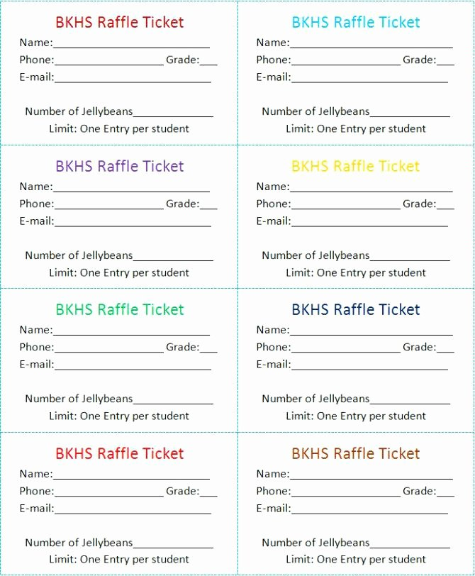 Word Raffle Ticket Template 2 Google Docs Meaning In