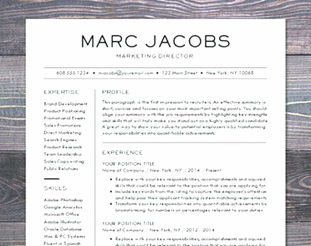 Word Resume Templates Mac | Latter Example Template