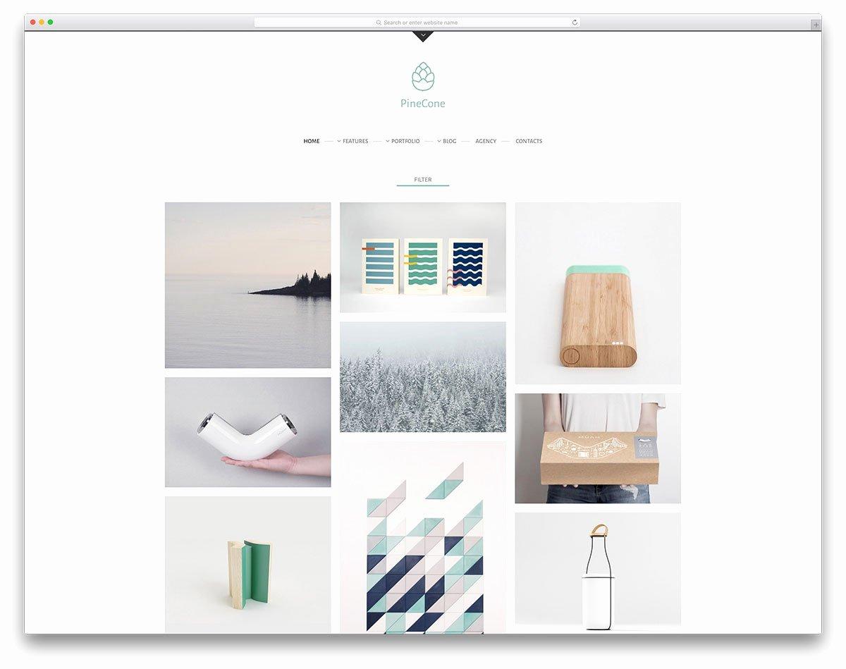 Wordpress Portfolio themes for Creative Works Mageewp