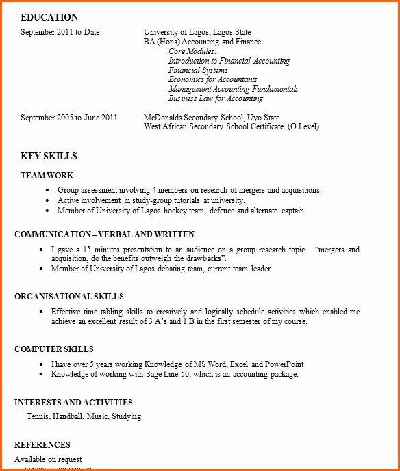 Work Experience Resume F Resume
