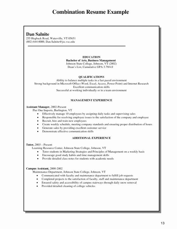 Work From Home Resume Samples