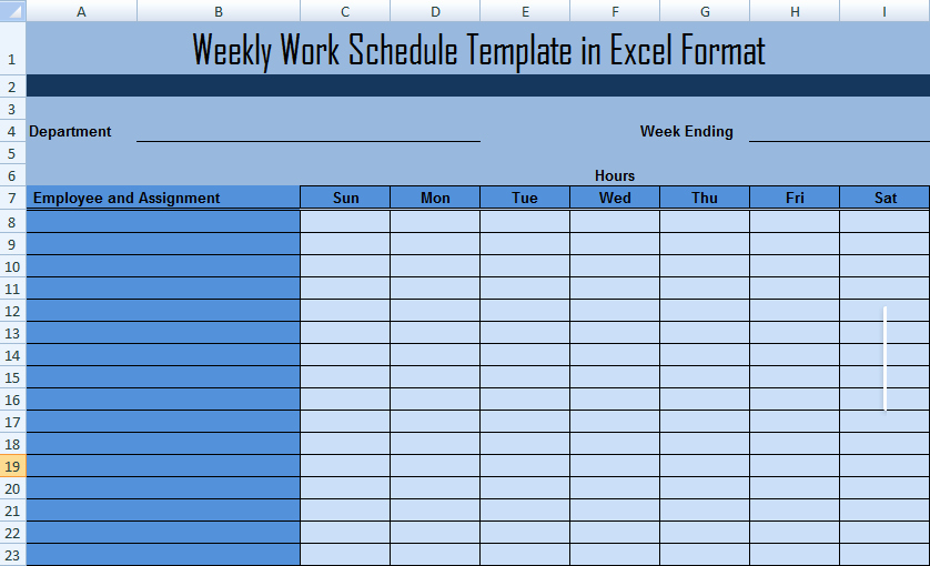 Work Plan Template Search Results
