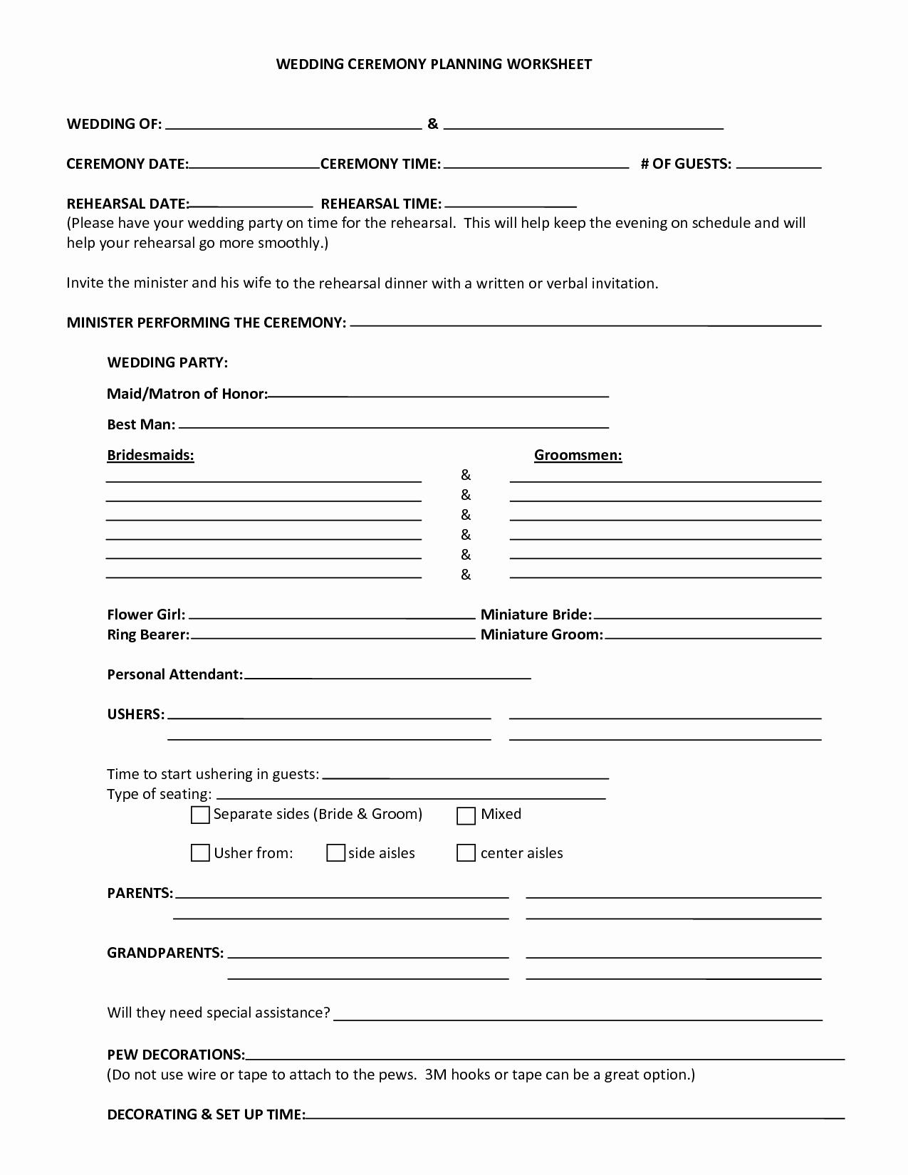 Worksheet Wedding Worksheet Hunterhq Free Printables