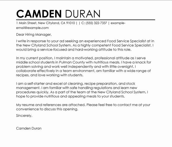 Write A Teacher Cover Letter