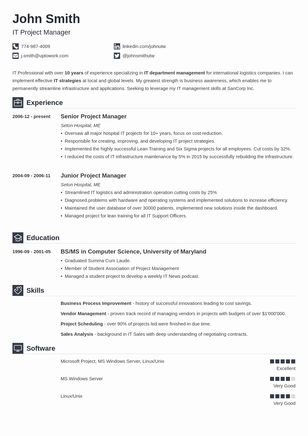 Write A Winning Resume the Best Resume Builders & Apps 2018