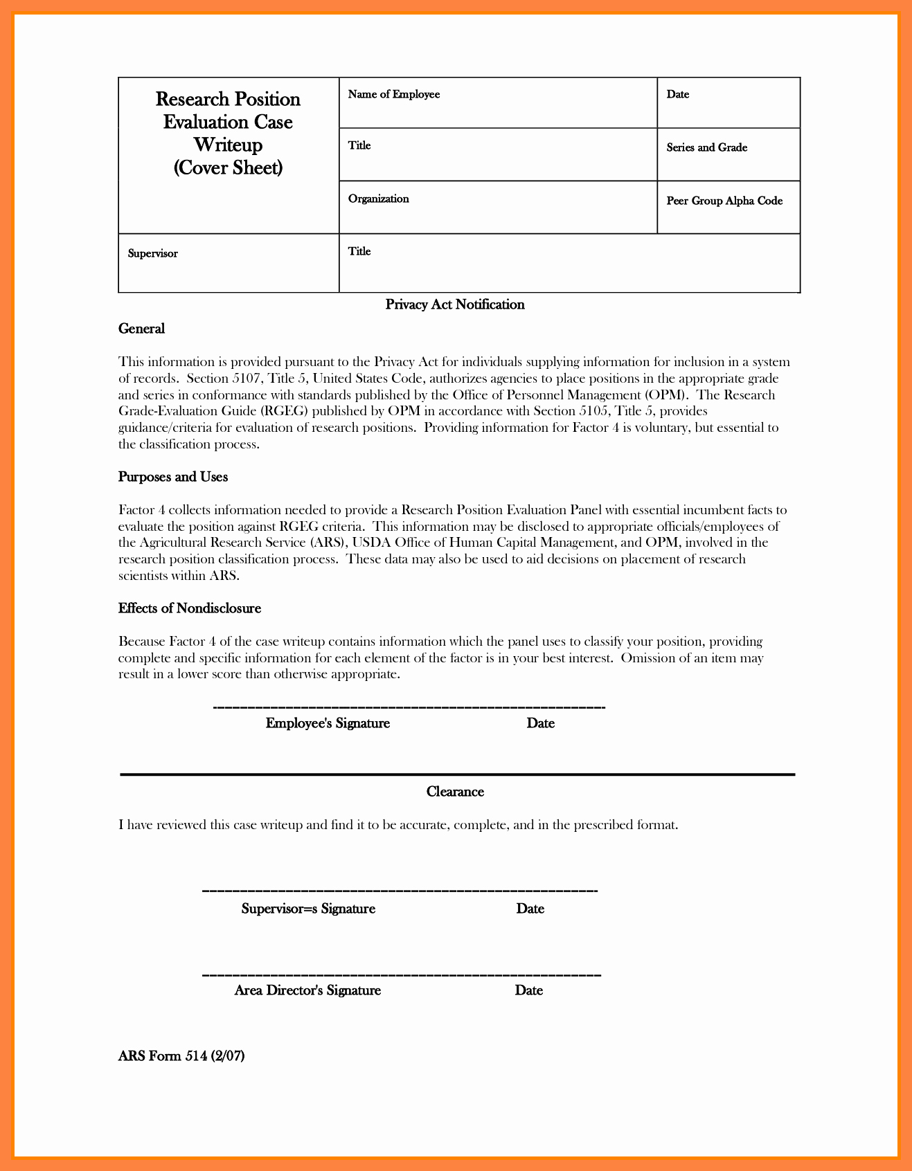 Write Up Template Employee Write Up Template