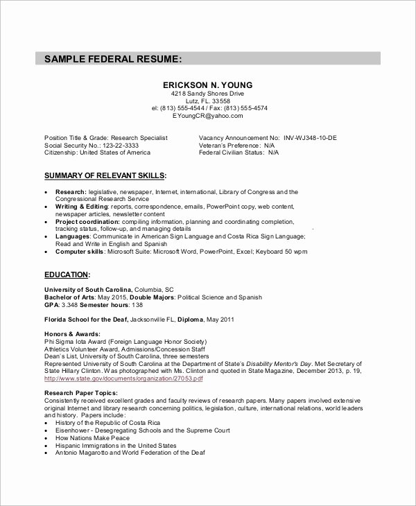 Writing A Federal Resume & Christmas Best Holiday Essay