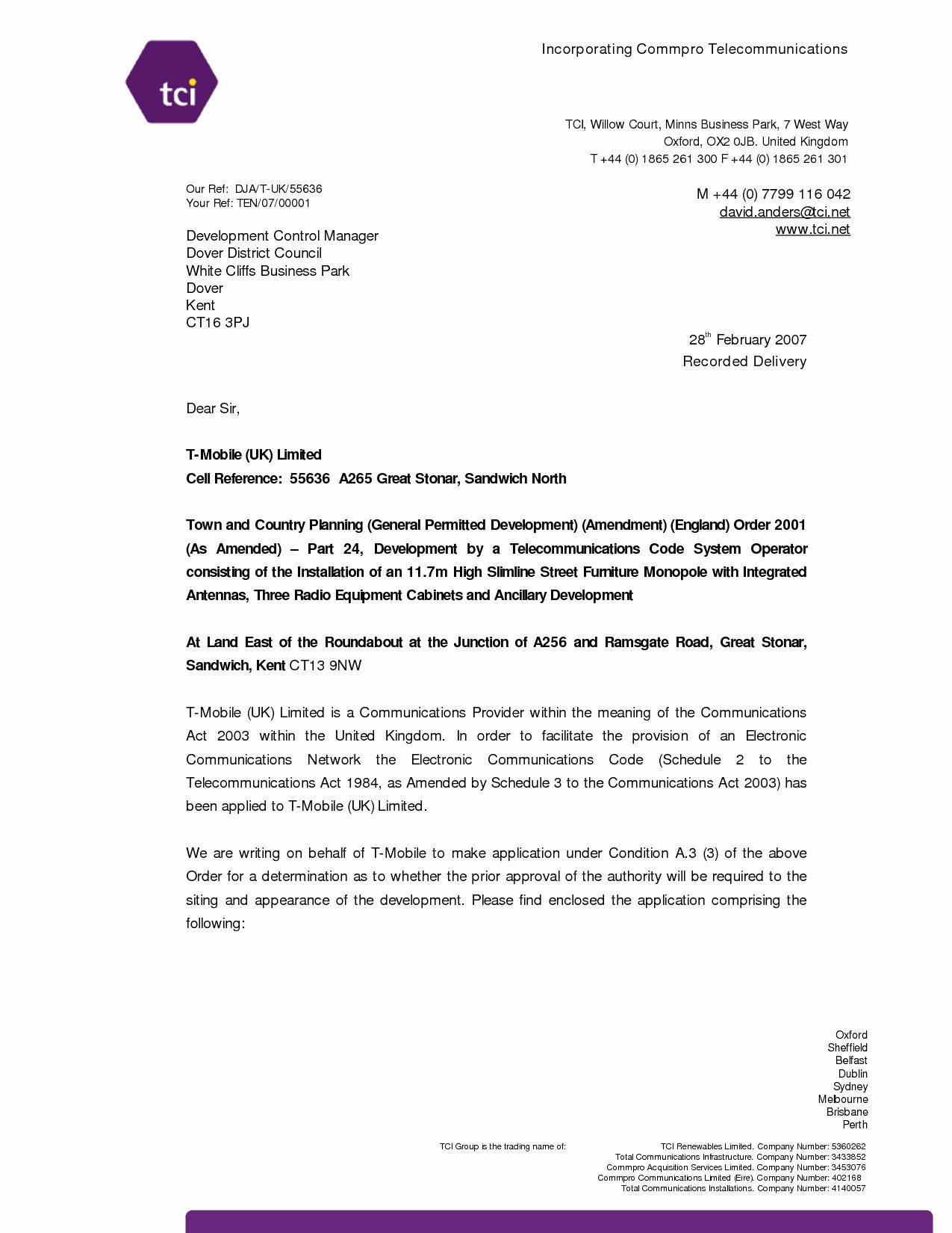 Writing A Good Covering Letter Uk