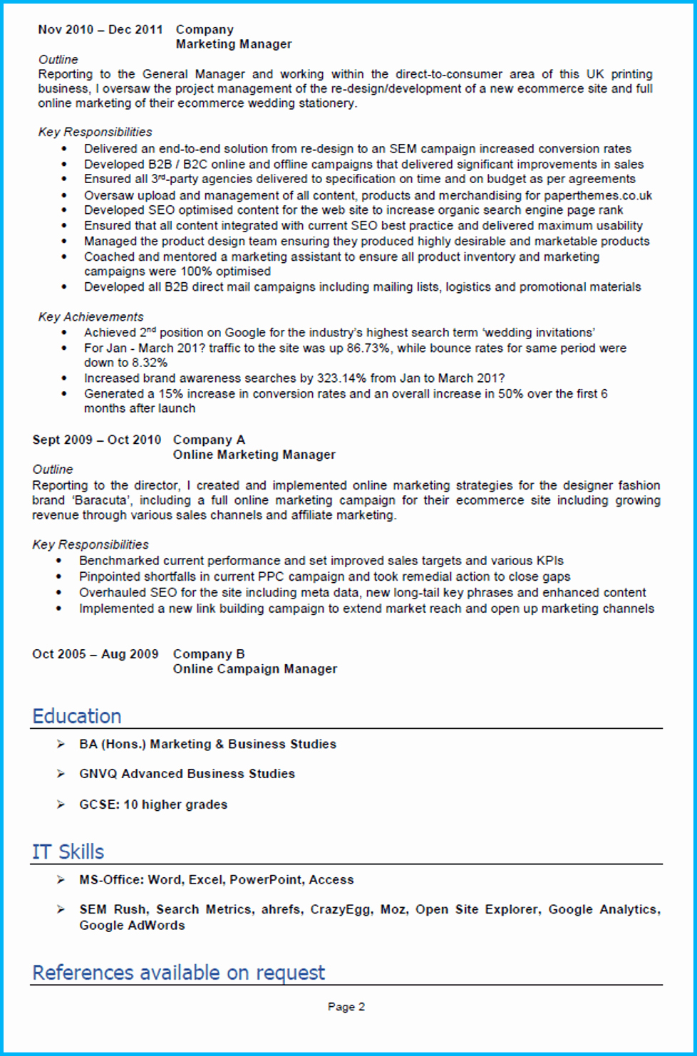 Writing Achievements In Resume Achievements to Put On A