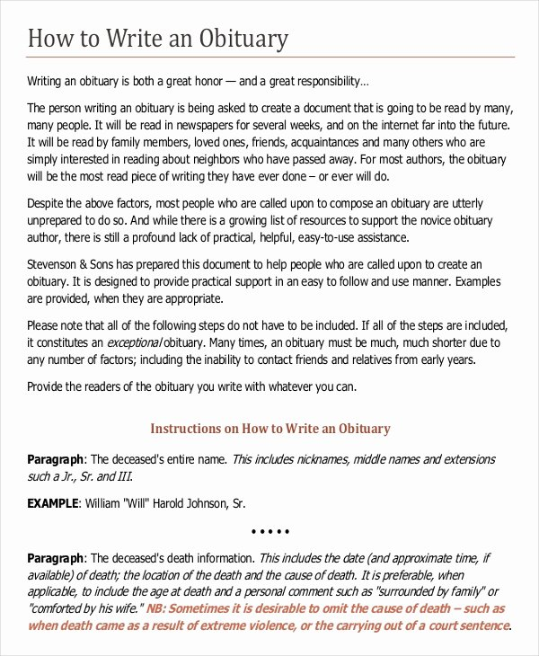 Writing Template – 15 Free Word Pdf Documents Download