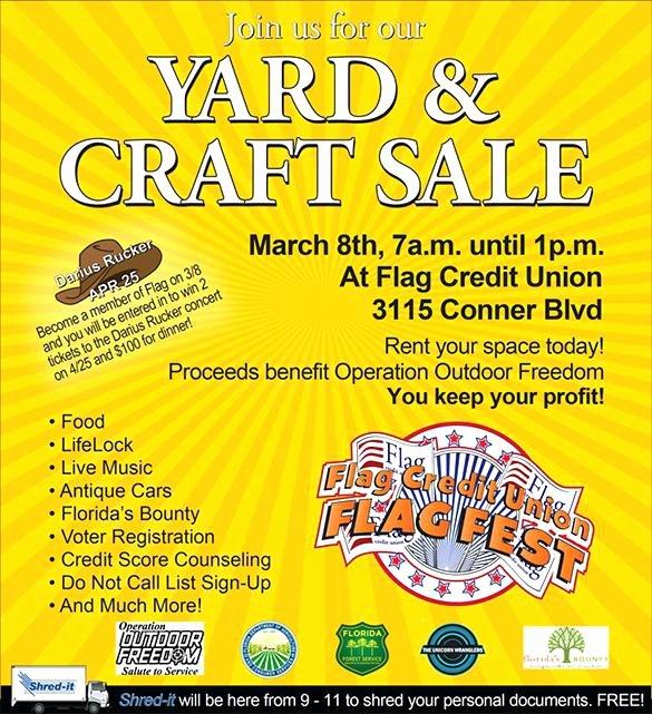 Yard Sales Flyers E Find Your Treasure north Indoor