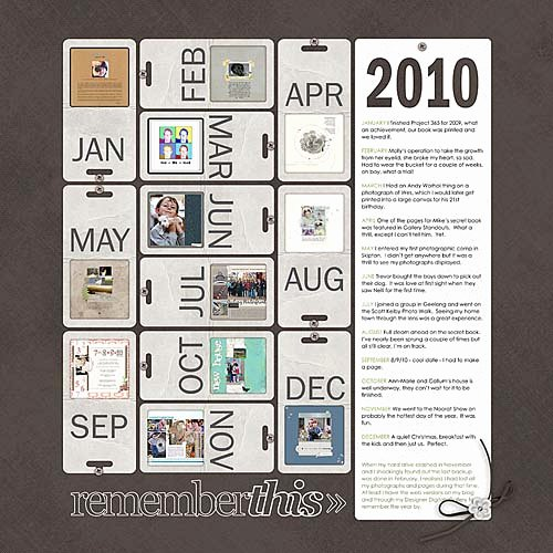 Year In Review Layered Template No 04 Katie Pertiet