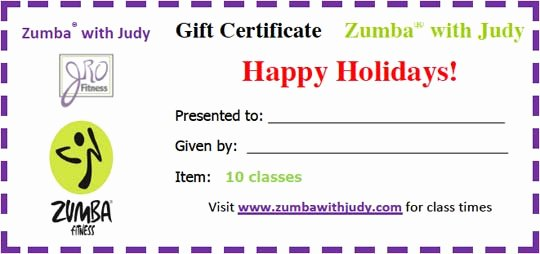 Yoga Gift Certificate Templates Easy to Use Gift