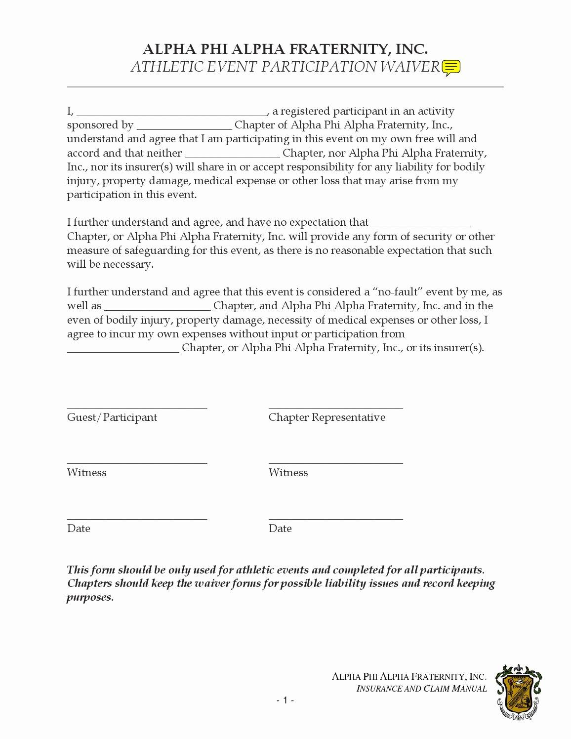 Yoga Waiver form Alliance – Blog Dandk