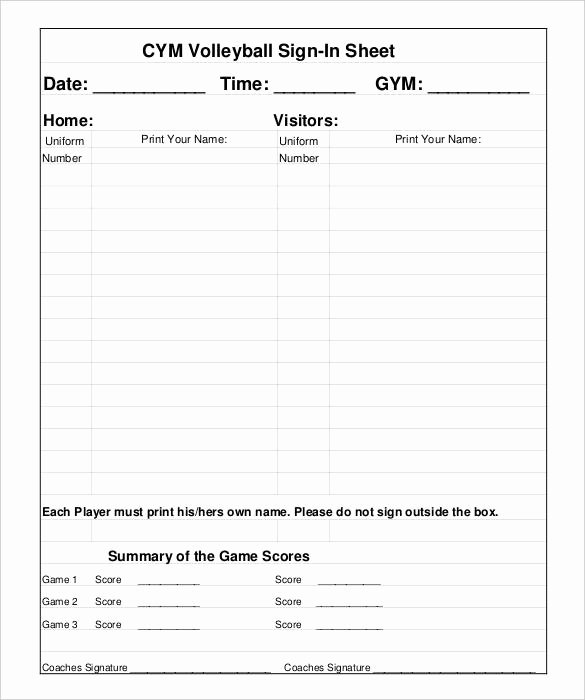 Yoga Waiver Sign In Sheet – Blog Dandk