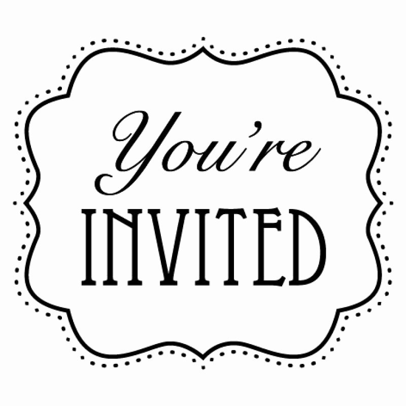 you are cordially invited clipart