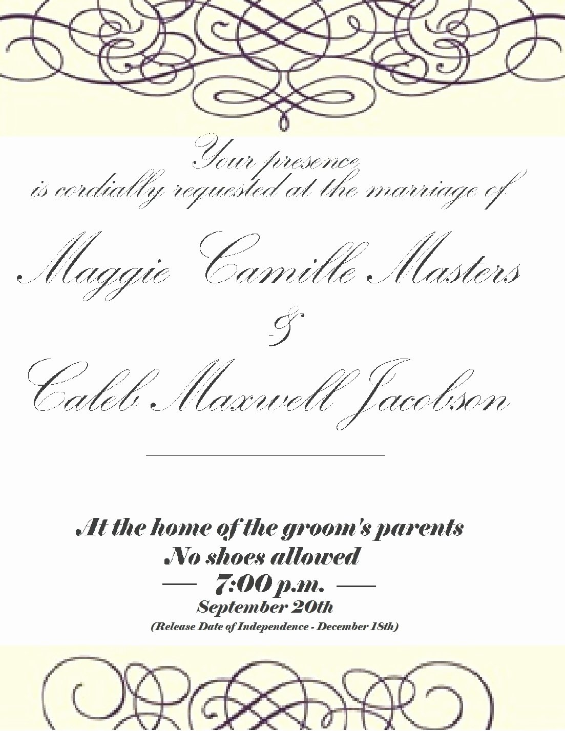 You are Cordially Invited Template Idealstalist