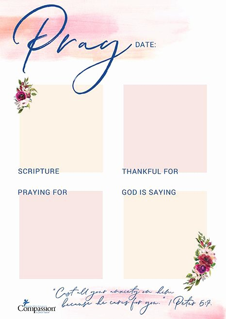 Your Free Prayer Journal Templates for the New Year