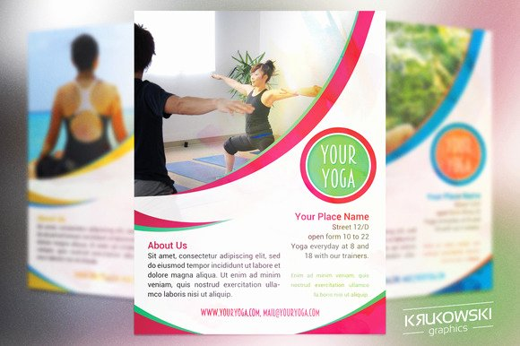 Your Yoga Flyer Template Flyer Templates On Creative Market