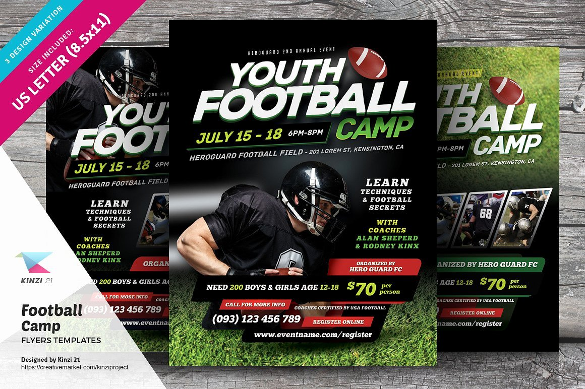 Youth Football Flyer Templates Yourweek 883fb3eca25e