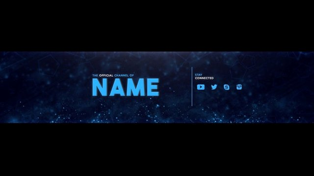 Youtube Channel Art Banner Template Psd Download