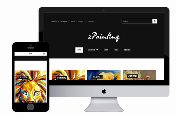 Zpainting Free Responsive HTML5 Template Zerotheme