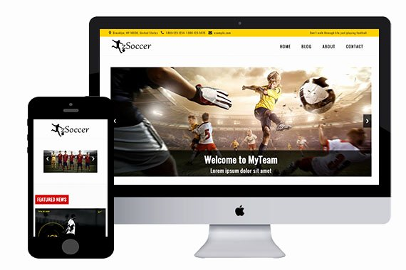 Zsoccer Free Responsive HTML5 Template Zerotheme